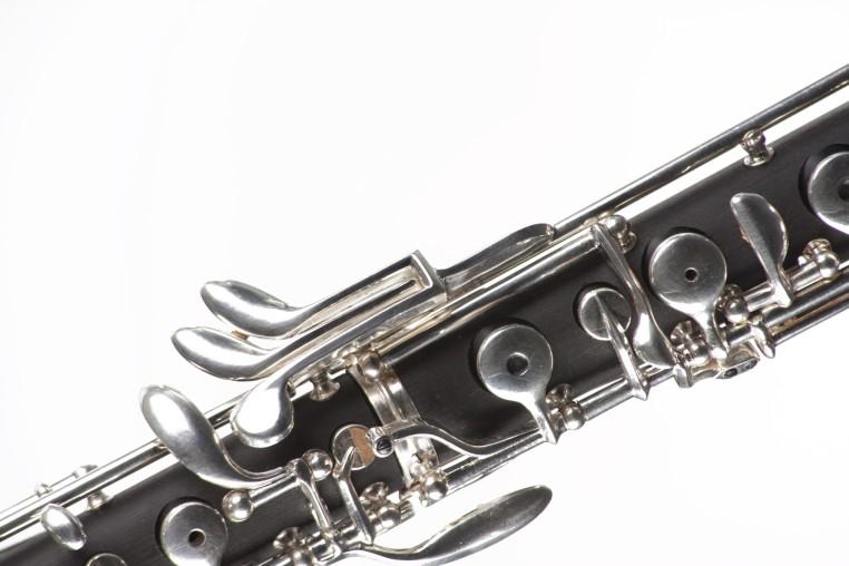 keys of an oboe